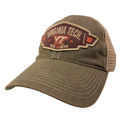 Virginia Tech Legacy Wings Mesh Adjustable Hat