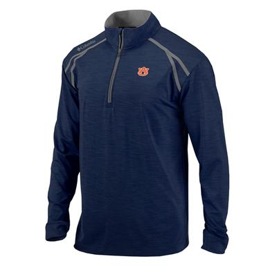 Auburn Columbia Golf Shotgun 1/4 Zip Pullover
