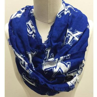 Kentucky Team Logo Infinity Scarf