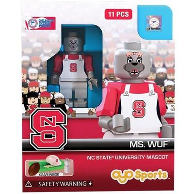 NC State Wolfpack Ms. Wuf Minifigure