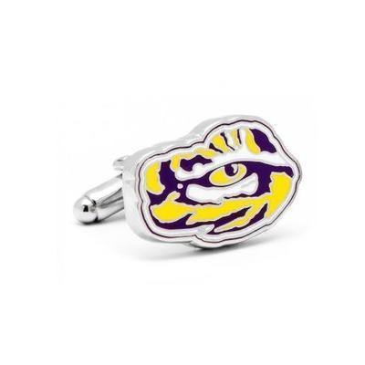 LSU Tiger Eye Cufflinks