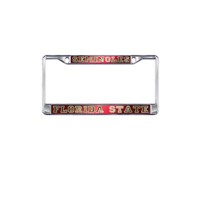 Florida State License Plate Frame Mirrored