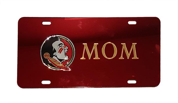 Florida State Mom License Plate