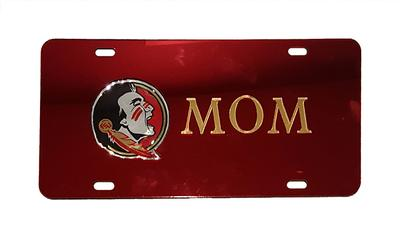 Florida State Mom License Plate