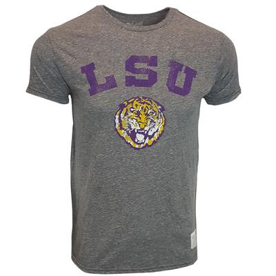 LSU Retro Brand Tiger Head Arch Tee