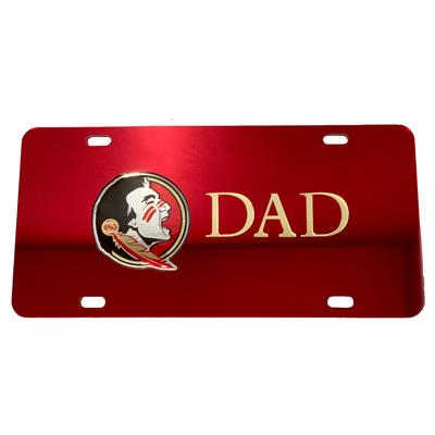 Florida State License Plate Dad