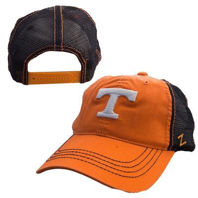Tennessee Distressed Mesh Snapback Hat