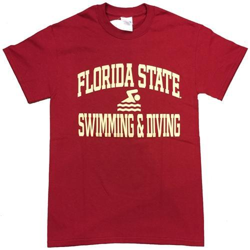 Florida State Swimming And Diving T- Shirt