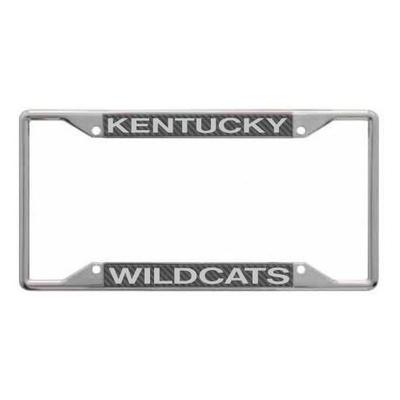 Kentucky Carbon Fiber License Plate Frame