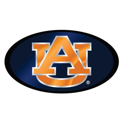 Auburn Hitch Cover Blue/Orange AU Logo