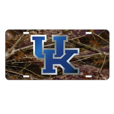 Kentucky License Plate Camo with Royal UK