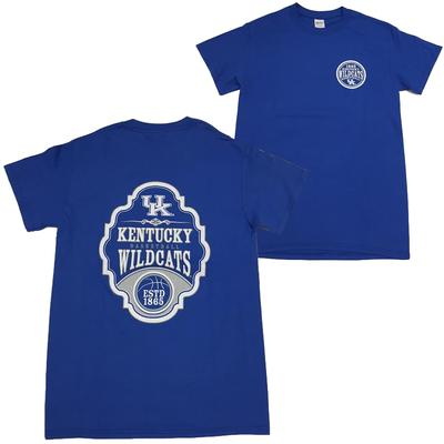 Kentucky Women's Plaque Basketball Tee ROYAL