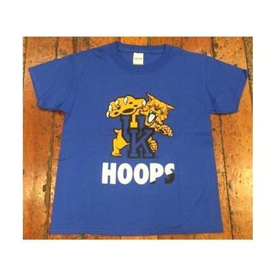 Kentucky Wildcats Youth Mascot Hoops Tee