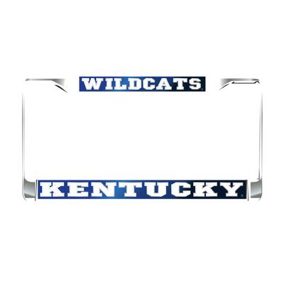 Kentucky License Plate Frame Royal