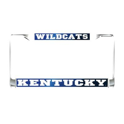 Kentucky License Plate Frame Royal