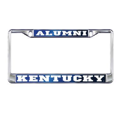 Kentucky License Plate Frame Alumni Royal
