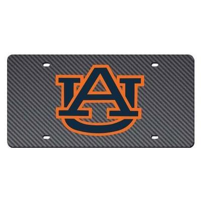 Auburn Carbon Fiber License Plate