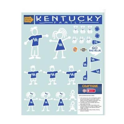 Kentucky Family Decal Sheet