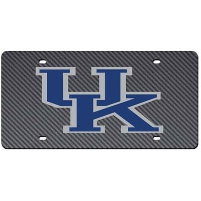 Kentucky Carbon Fiber License Plate