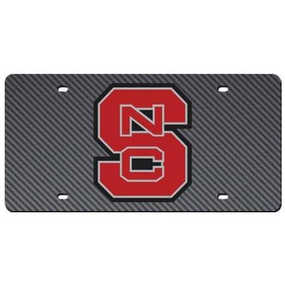 NC State Carbon Fiber License Plate