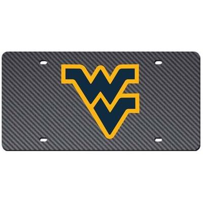 West Virginia Carbon Fiber License Plate