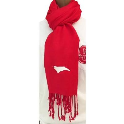North Carolina State Flag Scarf