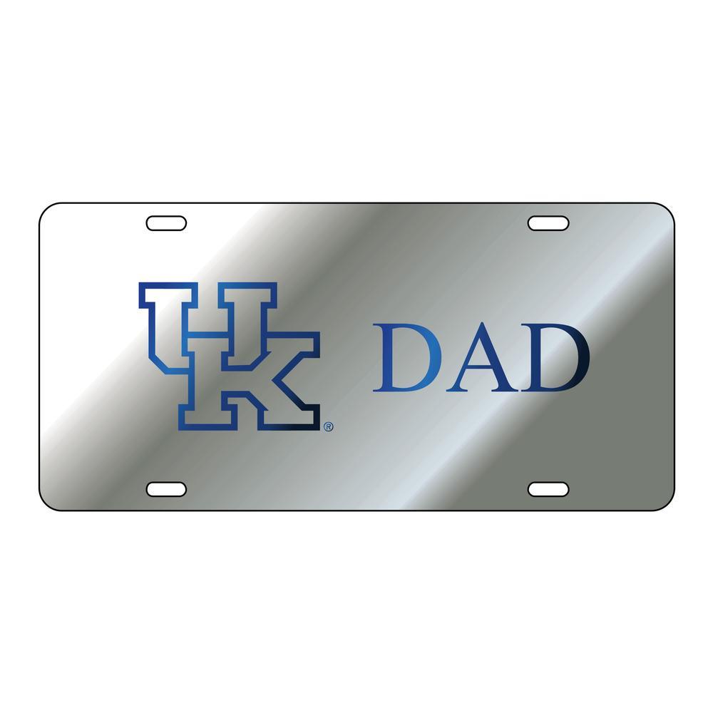 Kentucky License Plate Silver Uk Dad