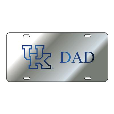 Kentucky License Plate Silver UK Dad