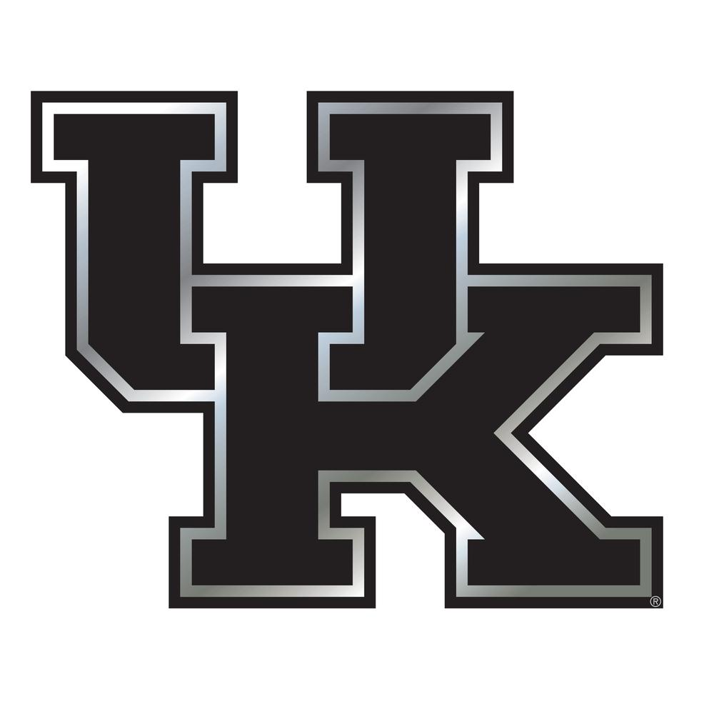 Kentucky Uk Logo Chrome Magnet 3