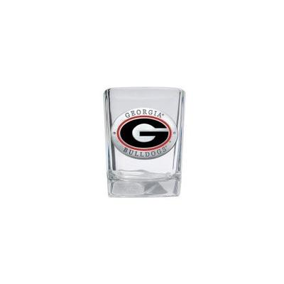 Georgia Heritage Pewter Square Shot Glass