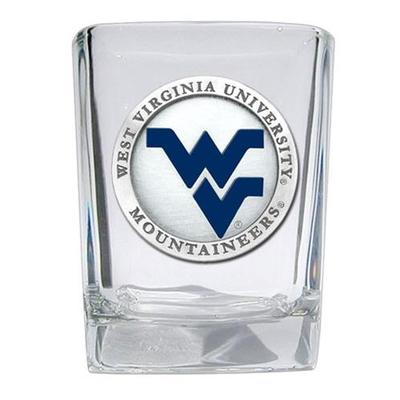 West Virginia Heritage Pewter Square Shot Glass