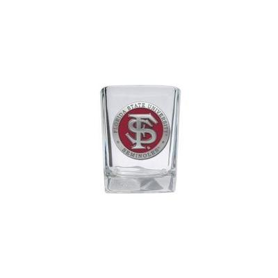 Florida State Heritage Pewter Square Shot Glass