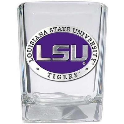 LSU Heritage Pewter Square Shot Glass