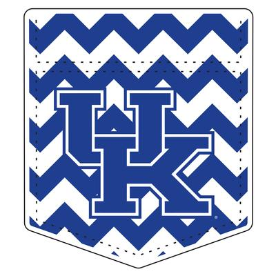 Kentucky Chevron Pocket UK Logo Magnet 6