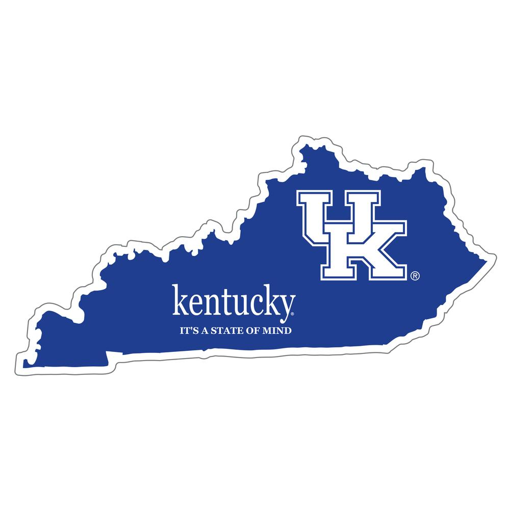 Kentucky State Of Mind Decal 4