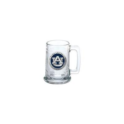 Auburn Heritage Pewter AU Stein Glass