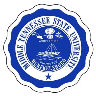 MTSU Decal School Crest 4