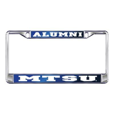 MTSU License Plate Frame Alumni/MTSU