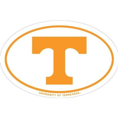Tennessee Magnet Oval Power T Logo 6