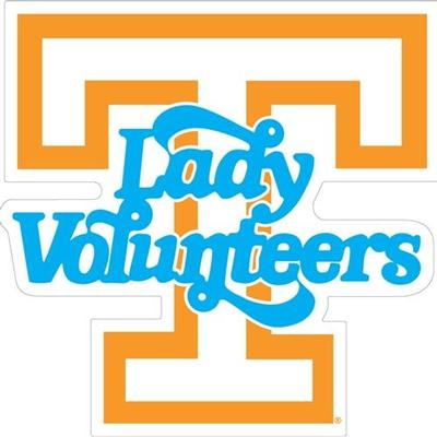 Tennessee Magnet Lady Vols Logo 8
