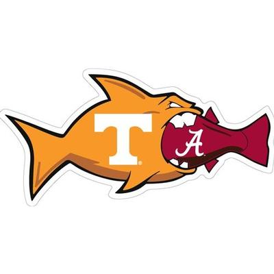 Tennessee Magnet UT vs Bama Rival Fish 3