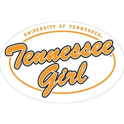 Tennessee Magnet Oval Girl Logo 6