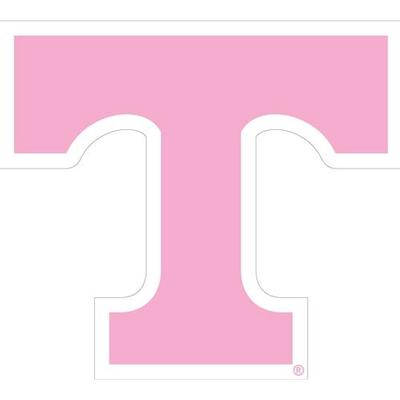 Tennessee Magnet Pink Power T Logo 3