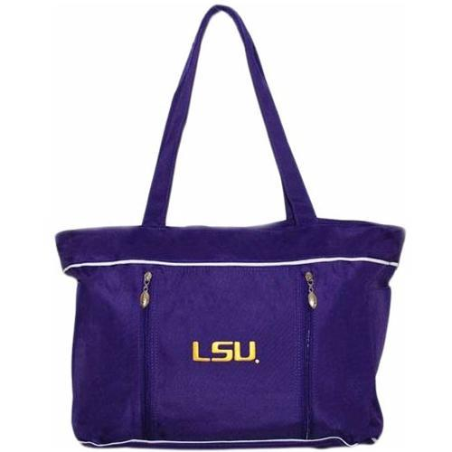 Lsu Diaper Bag With Changing Pad