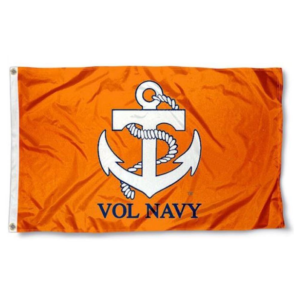 Tennessee Vol Navy Flag 3x5