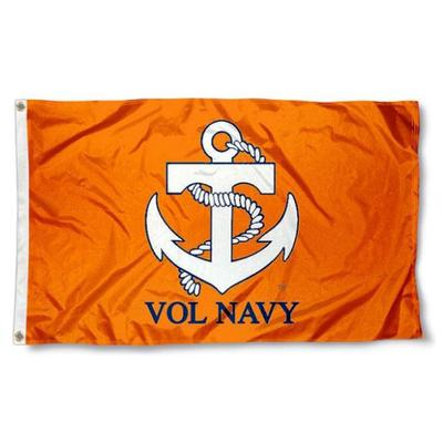 Tennessee Vol Navy Flag 3x5