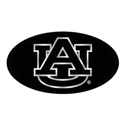 Auburn Hitch Cover Black/Silver AU Logo