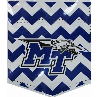 MTSU Magnet Chevron Pocket 6