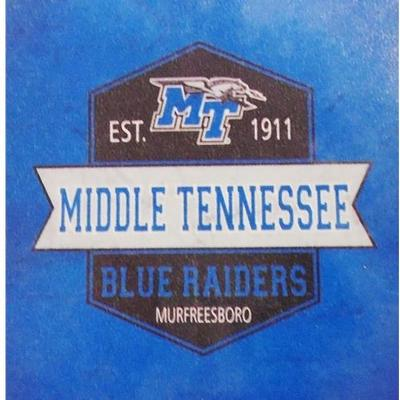 MTSU Decal Vintage Logo 4
