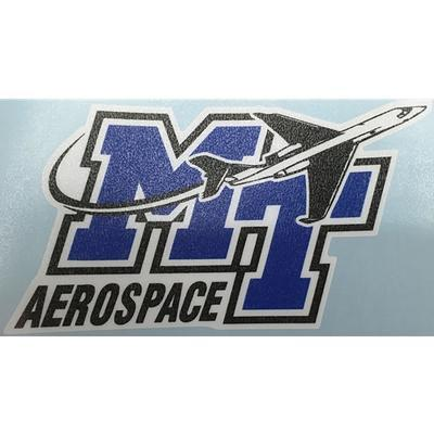 MTSU Decal Aerospace/MT Logo 4